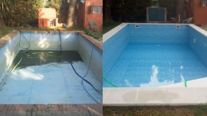 Reparación de piscinas o reforma en un par de días sin obra, arreglar la piscina